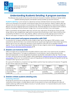 Understand Academic Detailing cover imag