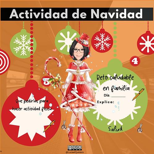 Actividad Bola de Navidad