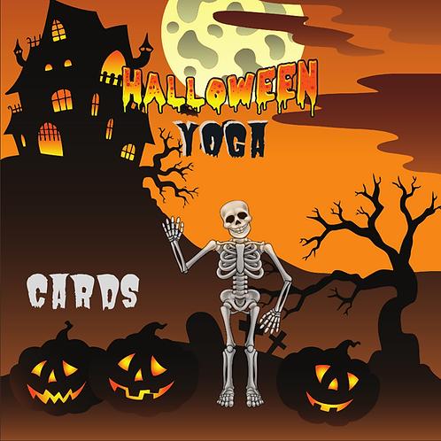 Halloween Yoga Cards