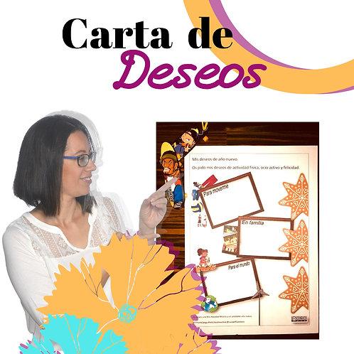 Carta de Deseos. Código IGDeseo