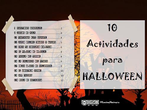 10 Actividades de EF para Halloween