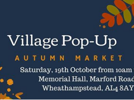 Pop along to a Pop-Up this October