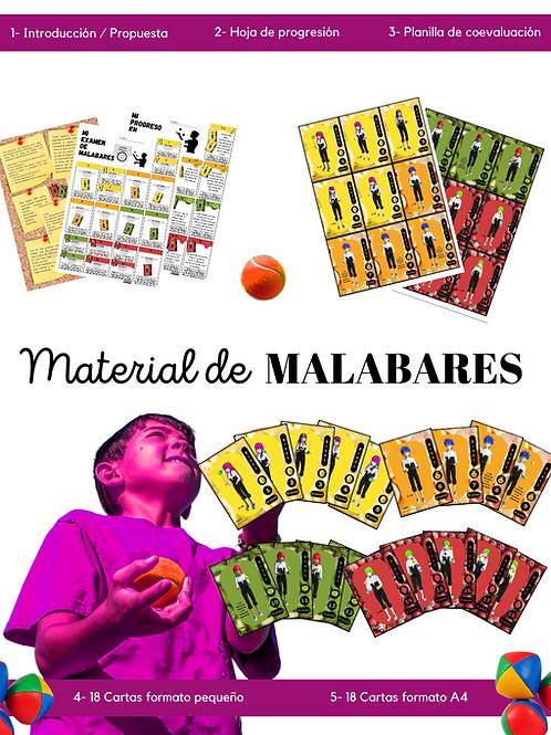 Material didáctico de MALABARES