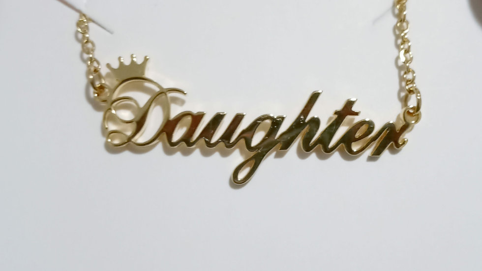 Crowned Daughter Necklace