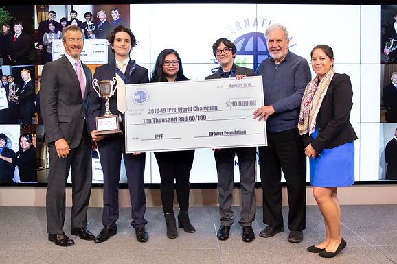 Notre Dame High School Takes Home $10,000 in International Public Policy Forum Debate Win
