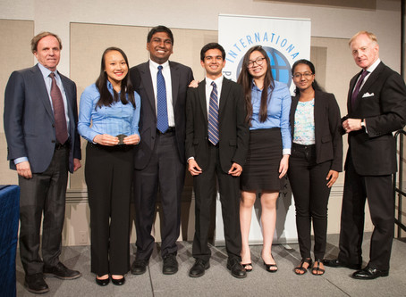Students Donate IPPF Competition Winnings to Help Refugees