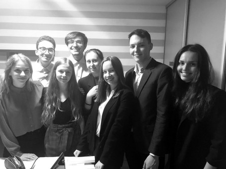 Slovak National Team Students Crowned Champion of International Public Policy Forum Debate Contest