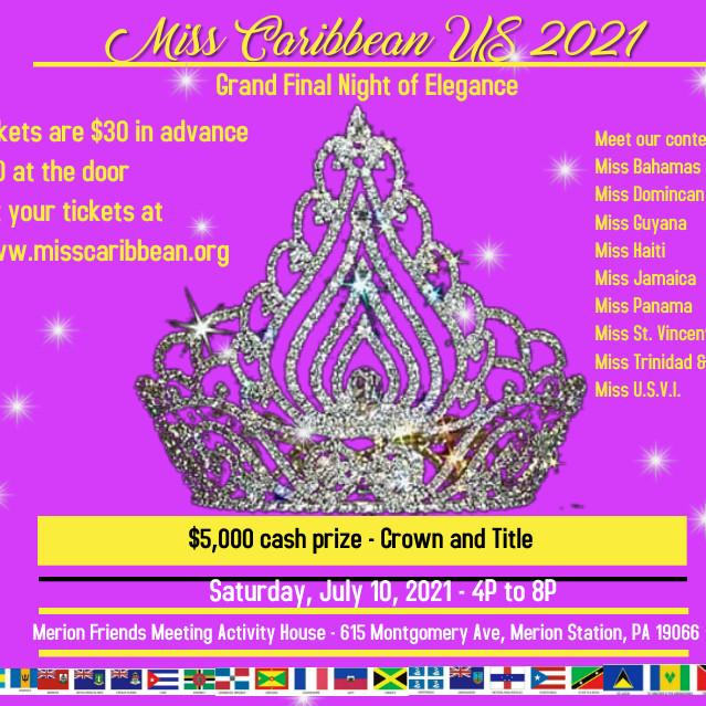 Miss Caribbean U.S. 2021
