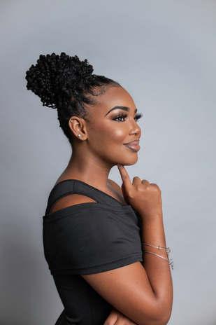 Waynisha Saunders Miss Bahamas