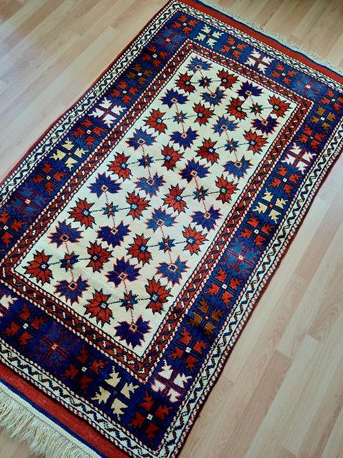 Turkish, Canakkale, Ayvacik, Vegetable Dyed Very Rare Handmade Rug