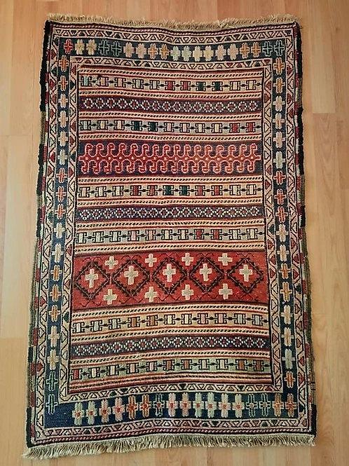 Persian Vintage Handmade Kilim Rug