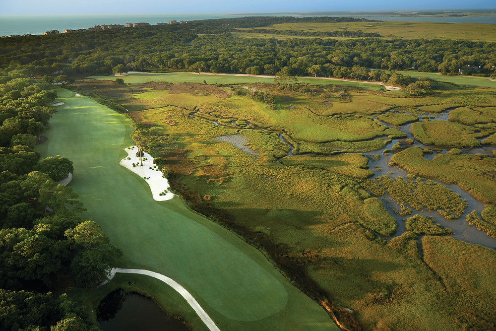Oak Marsh Golf Course, Hole 9 and 18