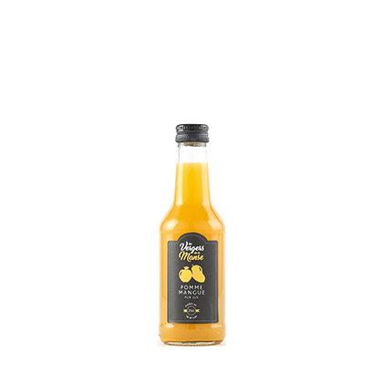 Les vergers de la Manse - Pur Jus Pomme - Mangue - 25 cl
