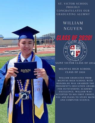 William Graduation Highlight.png