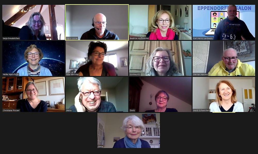 Screenshot Eppendorfer Salon 25. April 2021