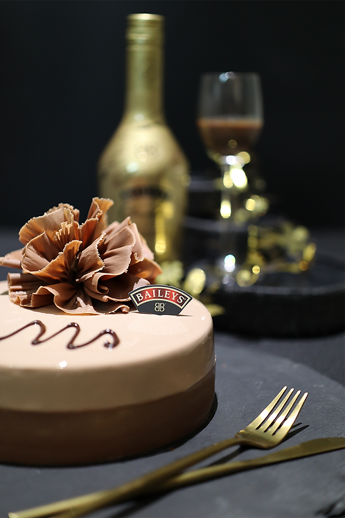 Chocolate Meets BAILEYS Cake by BUTLER