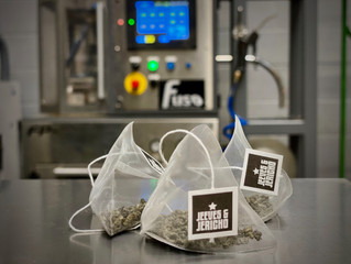 Percectly Packed Pymraid Teabags