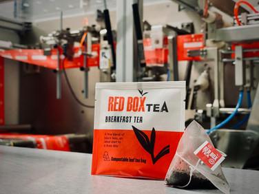 100% Bespoke Envelope Teabags