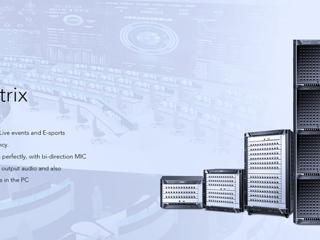 Unique Fiber KVM Matrix with Built-in video wall control features