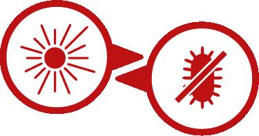 건강한 원적외선과 99.9%의 항균