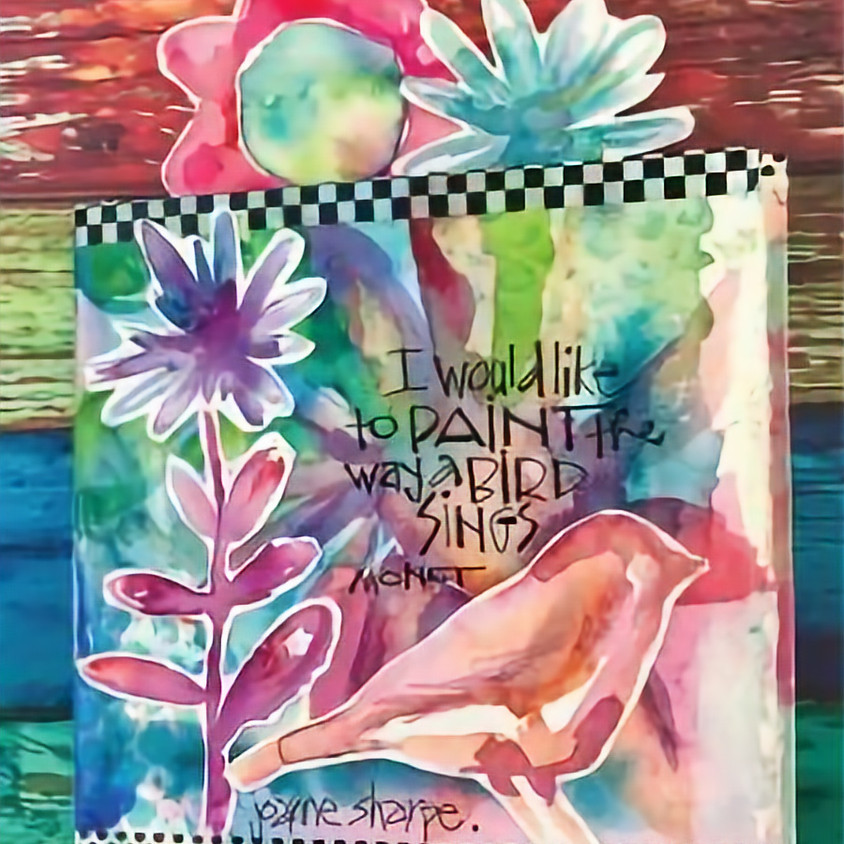 Watercolor and Lettering Workshop with Joanne Sharpe