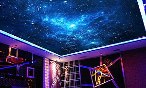 звездное небо с подсветкой