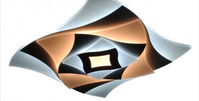 LEEK Светильник с-д (потолочный) LE LED CLL LOTOS 120W