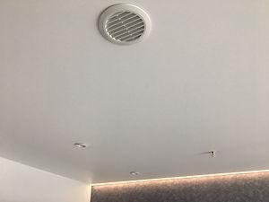 Вентиляционная решётка на натяжном потолке