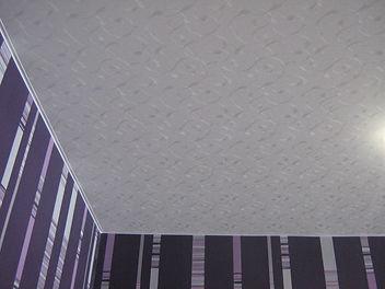 Фактурный потолок цена с установкой
