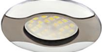 КОМПЛЕКТ Ecola MR16 HL029 GU5.3 Светильник встр. ВОЛНА с лампой»