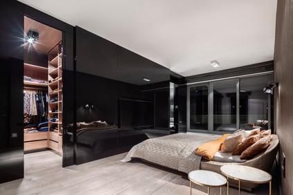 ровный потолок в спальне