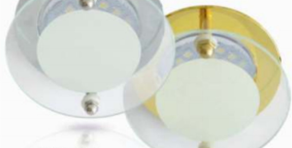 Светильник MR16 DL201 Круг со стеклом