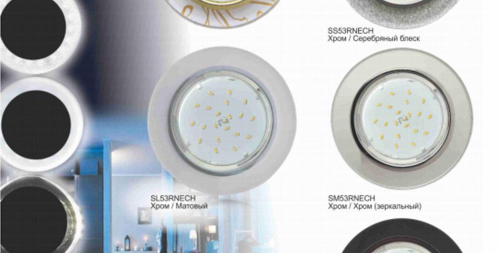 Ecola GX53 H4 LD5310 Светильник с подсветкой Круг