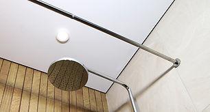 Теневой потолок в ванной