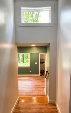 interior hallway to apartment