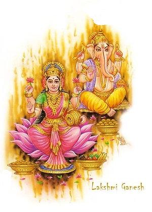 Encontro da Prosperidade e Caminhando com Ganesha