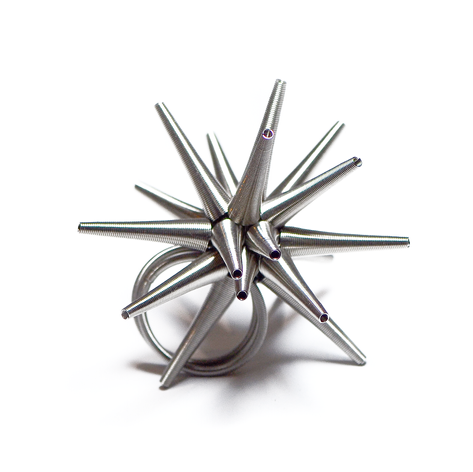 A hedgehog ring
