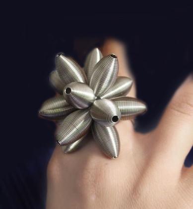 Lotus ring_Try on