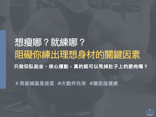 練腹肌秘訣|在家練腹肌必讀|局部健身還是全身減脂哪個有效?|Gymirin 健身平台