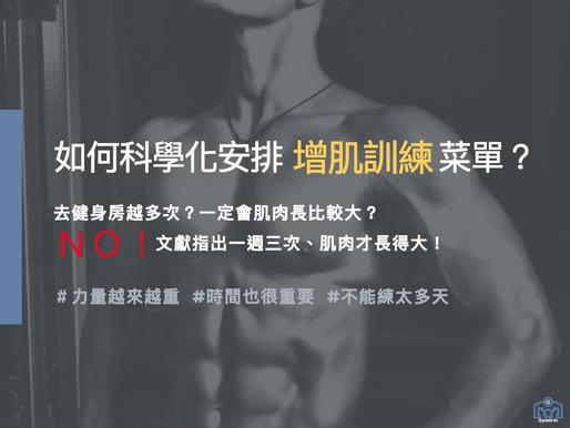 如何科學化安排「增肌訓練」菜單|在家健身|快試試看超負荷漸進式訓練(POT)|Gymirin 健身平台