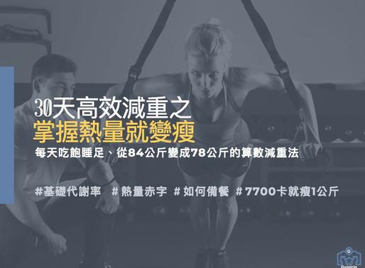 夏日減脂經驗分享-靠飲食30天6.8% TDEE計算器 Gymirin 健身平台