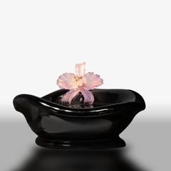 黑曜石水晶聚寶盆
