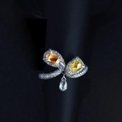 鑽石  天然香檳色彩鑽