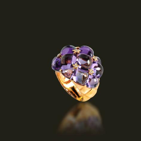 紫水晶 戒