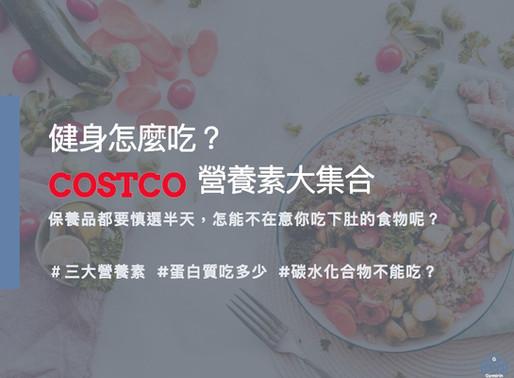 (上集)健身怎麽吃- Costco營養素大集合  增肌減脂怎麼吃? Gymirin 健身平台