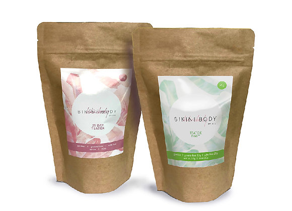 Combo pack 21DAYS TEATOX + DAILY TEATOX