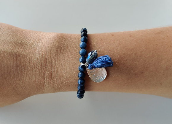 Armbandje - blauw