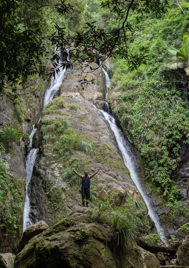 Dos Brazos waterfall