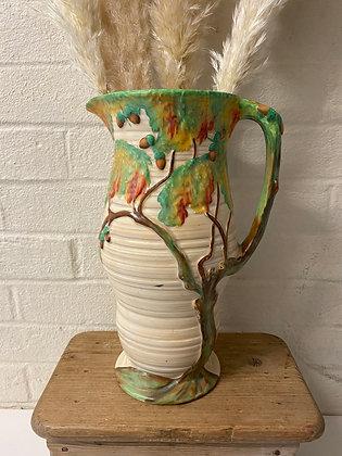 Carlton Ware Day Oak 1930s Art Deco Large Vase