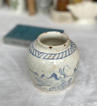 Vintage Timeworn Ginger Jar
